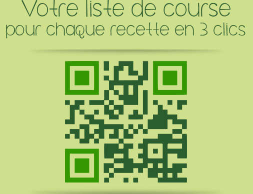 QR code de l'application mobile Que faire de simple...